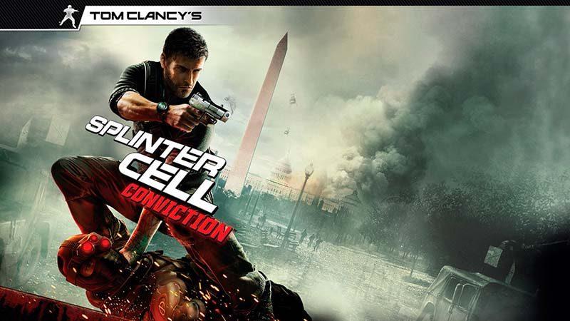 سی دی کی اورجینال Tom Clancy's Splinter Cell Conviction