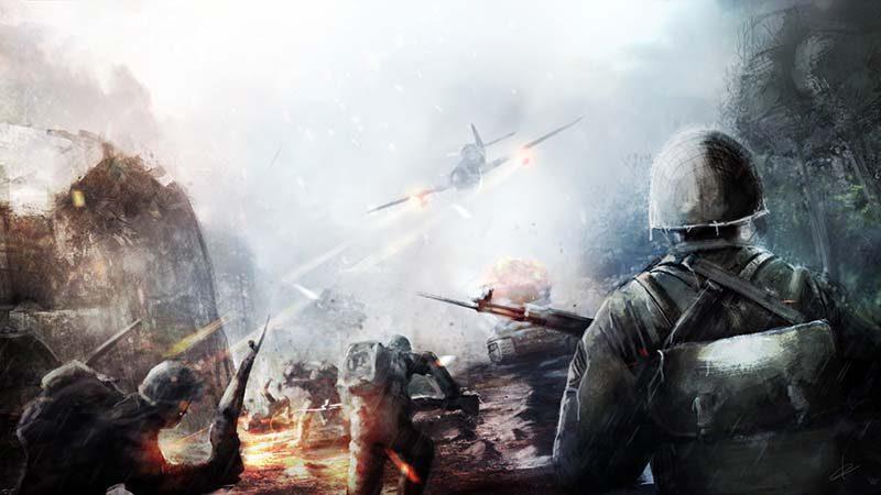 سی دی کی اورجینال بازی Battlefield V