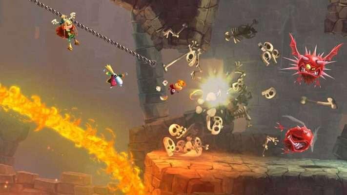 سی دی کی اورجینال بازی Rayman Legends