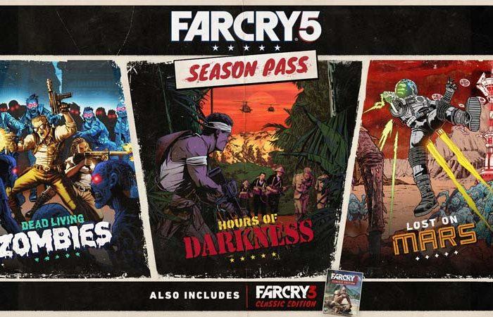 سی دی کی اورجینال Far Cry 5 Season Pass (سیزن پس بازی)
