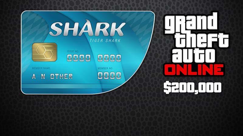 سی دی کی Shark Cash Card GTA Online شارک کارت جی تی ای