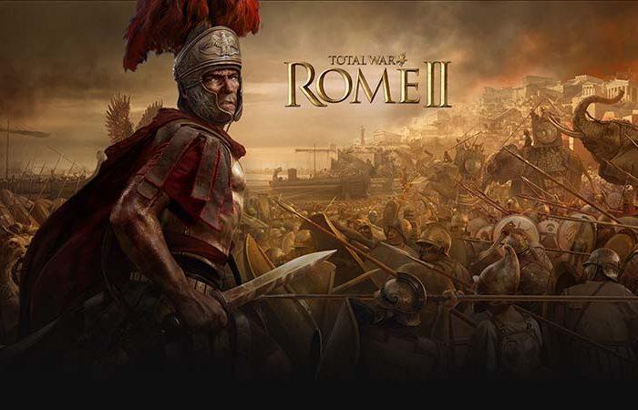 سی دی کی اورجینال بازی Total War Rome 2