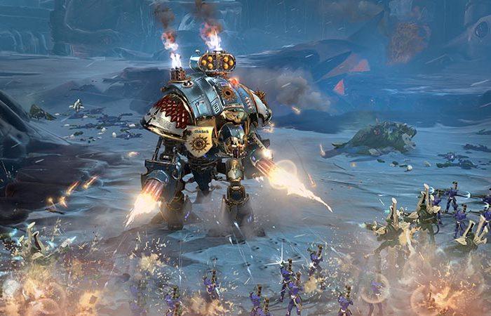 سی دی کی اورجینال Warhammer 40000 Dawn of War III