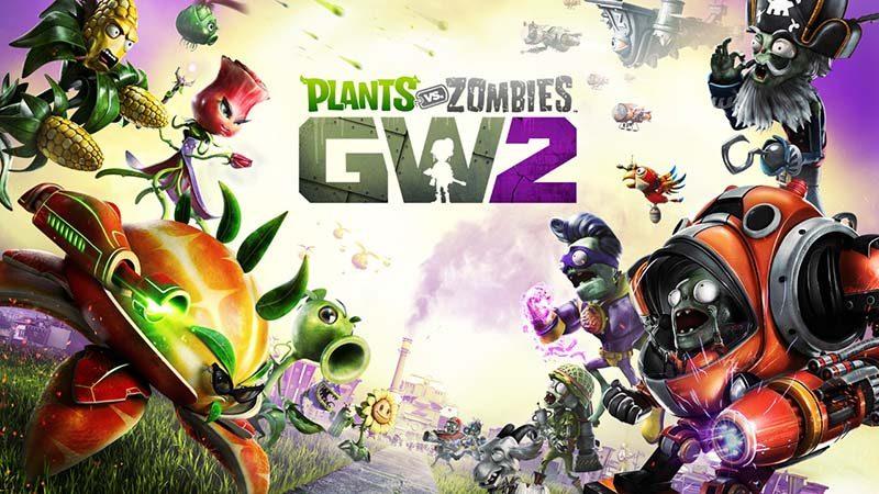 سی دی کی اورجینال Plants vs Zombies Garden Warfare 2