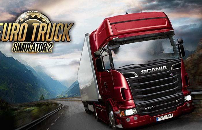 سی دی کی اورجینال Euro Truck Simulator 2