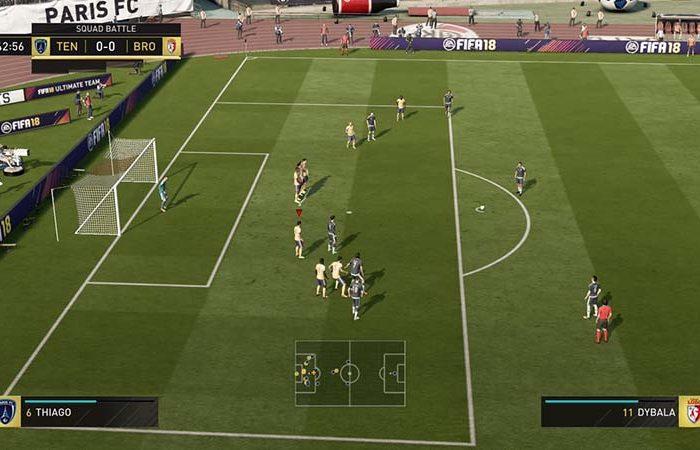اکانت قانونی PS4 بازی FIFA 18 (فیفا 18)