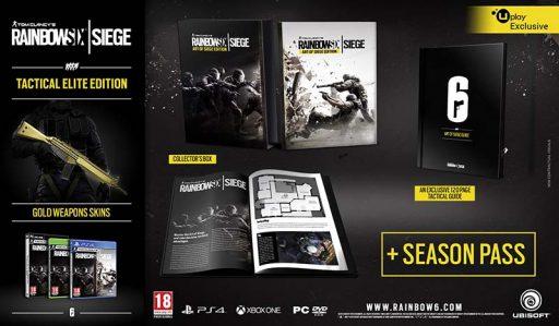 سی دی کی اورجینال Rainbow Six Siege Gold Edition