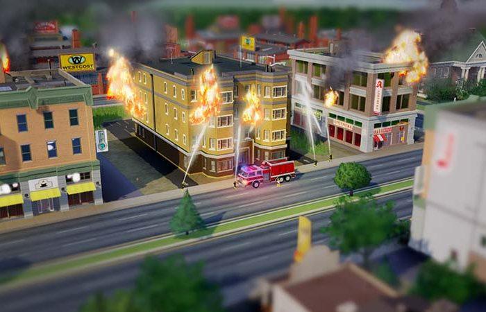 سی دی کی اورجینال بازی SimCity