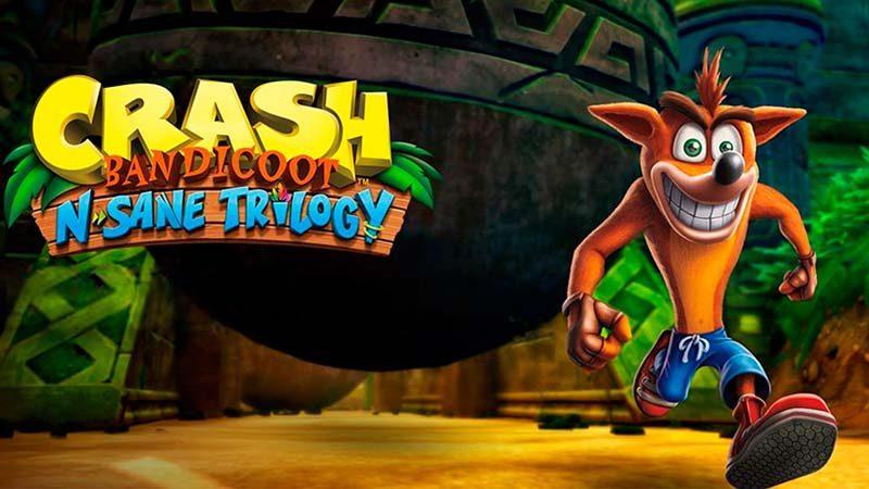 سی دی کی اورجینال Crash Bandicoot N. Sane Trilogy (کراش باندیکوت)