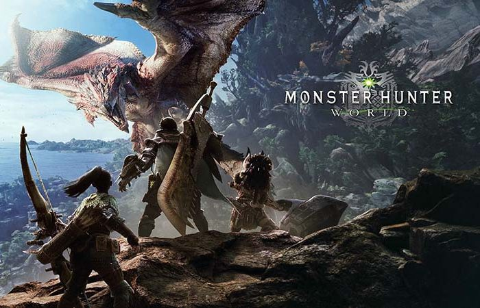 سی دی کی اورجینال بازی Monster Hunter World