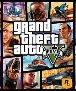 اکانت قانونی PS4 بازی GTA V (جی تی ای وی)