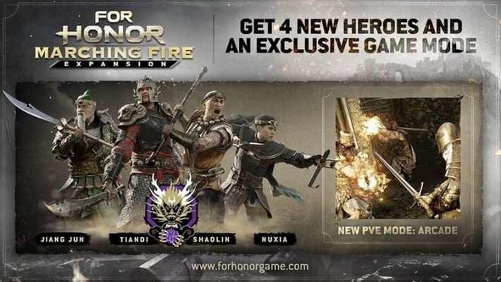 سی دی کی For Honor Marching Fire Expansion