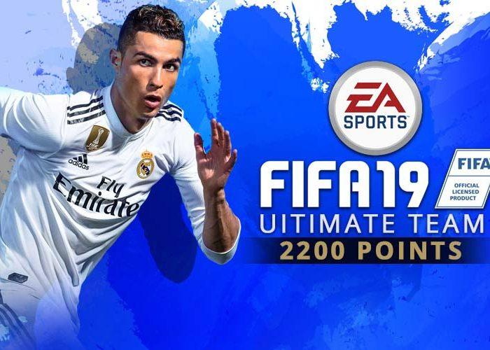 سی دی کی پوینت فیفا 19 آلتیمیت تیم (FIFA 19 2200 FUT Points)