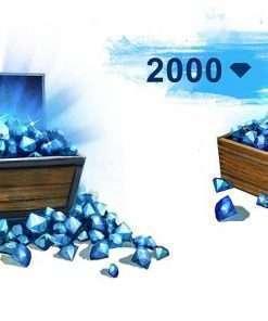 سی دی کی Guild Wars 2 2000 Gems Code (جم بازی)