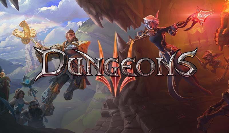 سی دی کی اورجینال بازی Dungeons 3