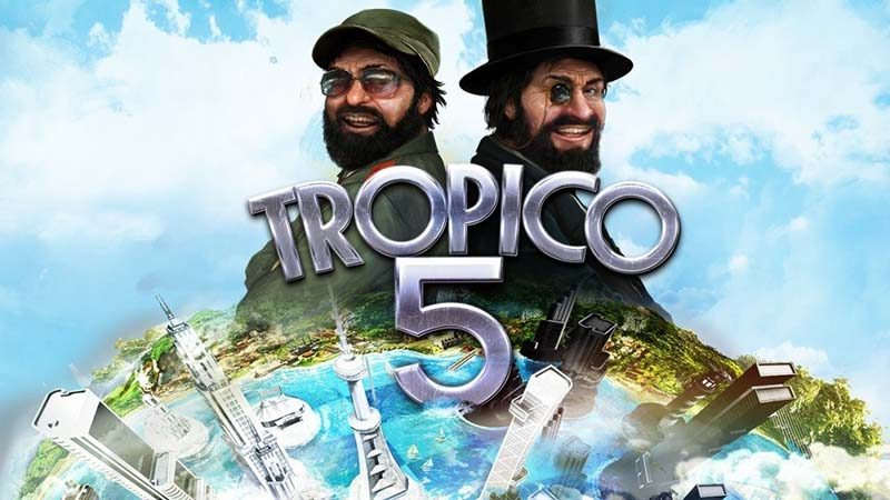 سی دی کی اورجینال بازی Tropico 5