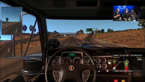 سی دی کی اورجینال بازی American Truck Simulator