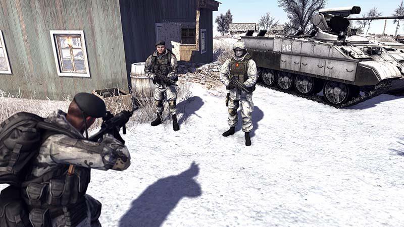 سی دی کی اورجینال بازی Call to Arms