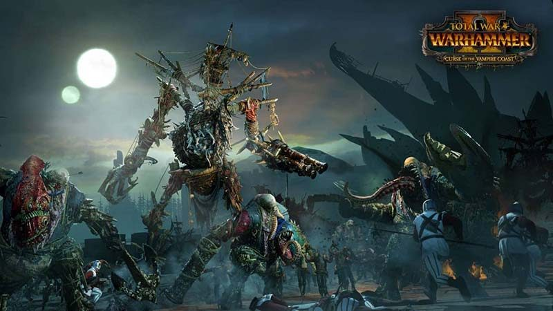 سی دی کی Total War WARHAMMER II - Curse of the Vampire Coast