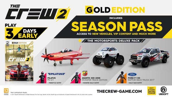سی دی کی The Crew 2 Season Pass (سیزن پس بازی)