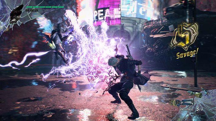 سی دی کی اورجینال بازی Devil May Cry 5