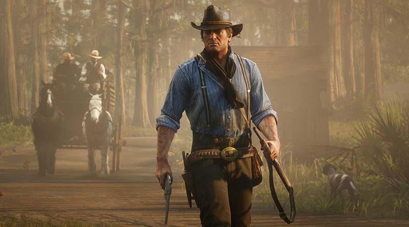 سی دی کی اورجینال بازی Red Dead Redemption 2