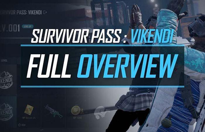 سی دی کی Survivor Pass Vikendi PUBG (دی ال سی پابجی)