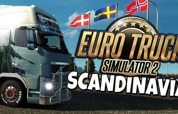 سی دی کی Euro Truck Simulator 2 Scandinavia DLC