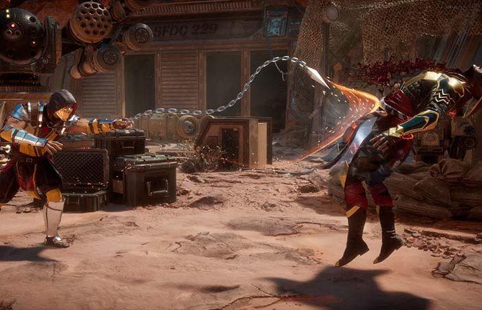 سی دی کی اورجینال بازی Mortal Kombat 11