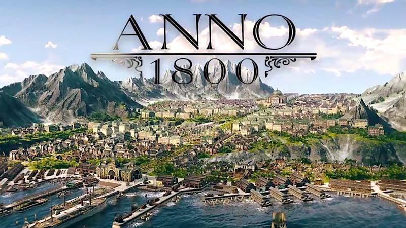 سی دی کی اورجینال بازی Anno 1800