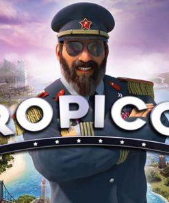 سی دی کی اورجینال بازی Tropico 6