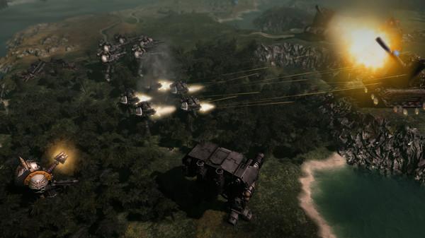 سی دی کی بازی Warhammer 40,000 Gladius - Relics of War