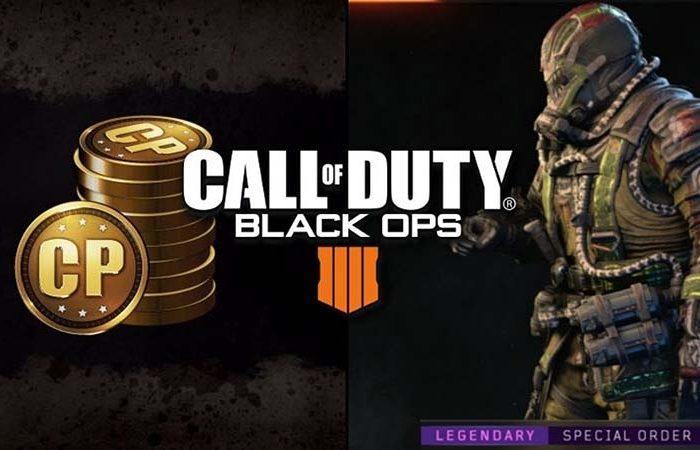 سی دی کی Call of Duty Black Ops 4 Points (پوینت بلک اوپس 4)