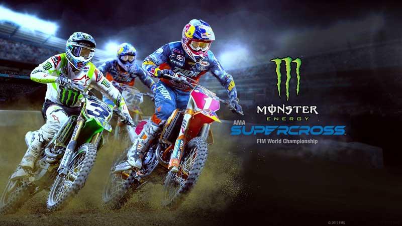 سی دی کی بازی Monster Energy Supercross