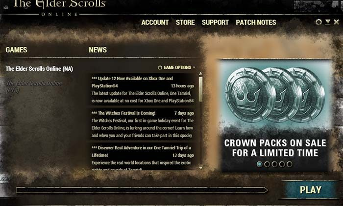 سی دی کی The Elder Scrolls Crown Pack (کران پک بازی)
