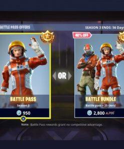 خرید بتل پس فورتنایت (Battle Pass Season)