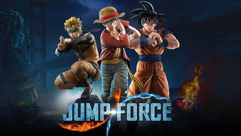 سی دی کی اورجینال JUMP FORCE