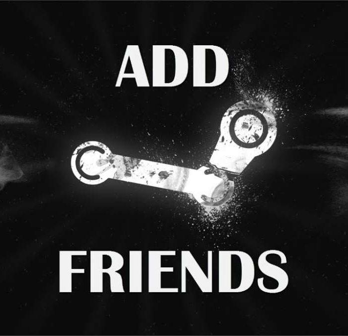 فعالسازی اد فرند استیم (Add Friend) استیم