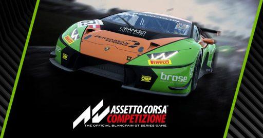 سی دی کی اورجینال بازی Assetto Corsa Competizione