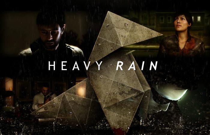 سی دی کی اورجینال بازی Heavy Rain