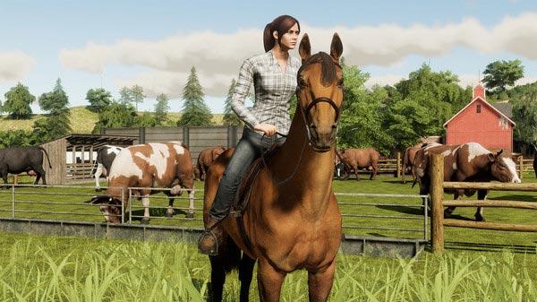 سی دی کی اورجینال بازی Farming Simulator 19