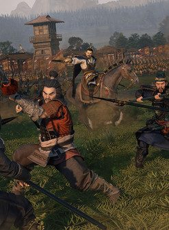 سی دی کی اورجینال بازی Total War: THREE KINGDOMS