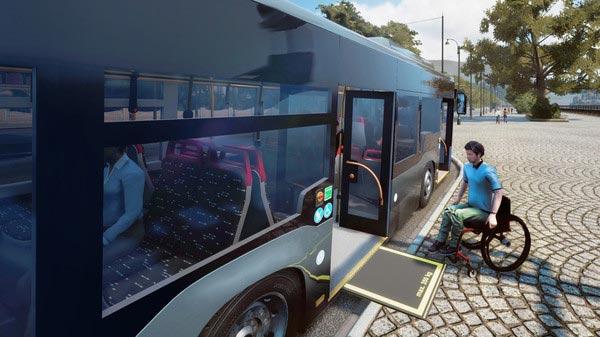 سی دی کی اورجینال بازی Bus Simulator 18