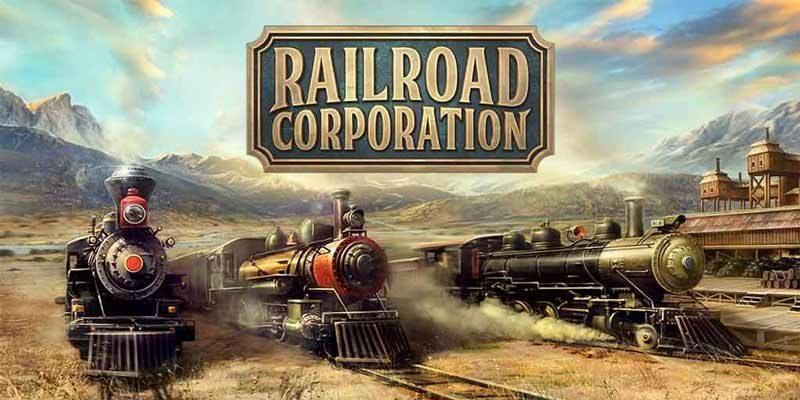 سی دی کی اورجینال بازی Railroad Corporation