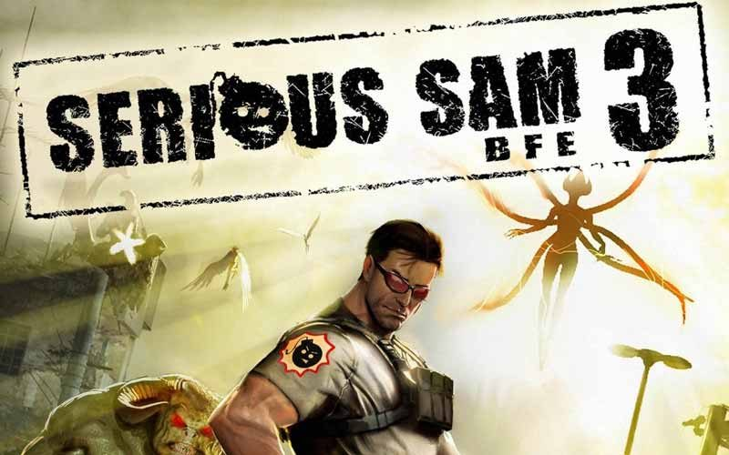 سی دی کی اورجینال Serious Sam 3: BFE