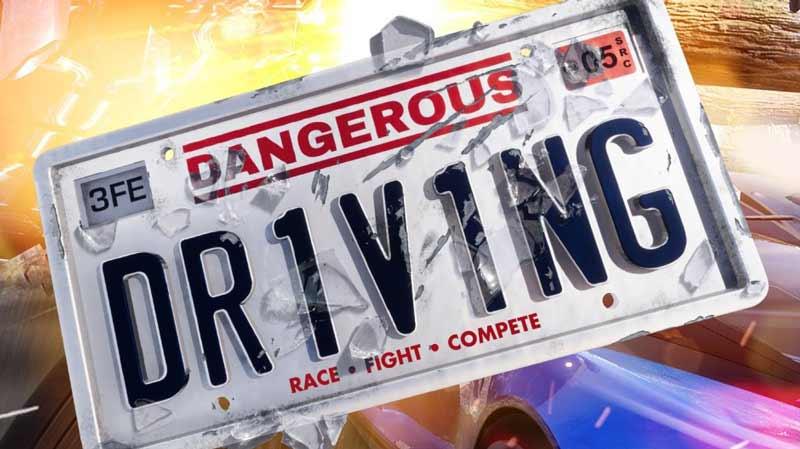 سی دی کی اورجینال بازی Dangerous Driving
