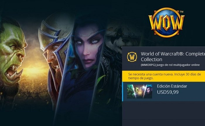 سی دی کی اورجینال World of Warcraft Complete Collection