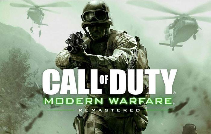 سی دی کی Call of Duty: Modern Warfare Remastered اورجینال