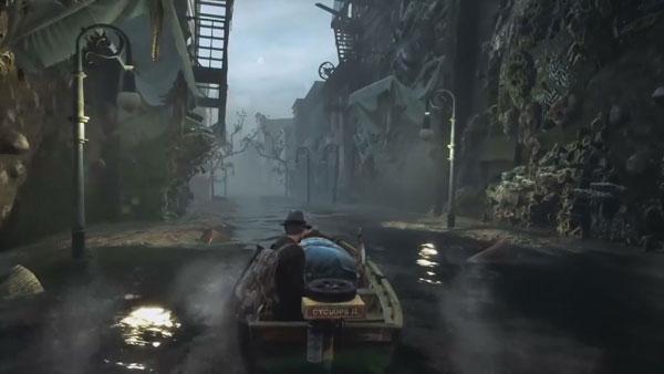 سی دی کی اورجینال بازی The Sinking City