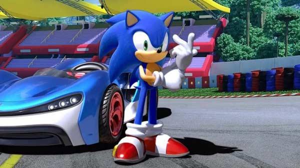 سی دی کی اورجینال Team Sonic Racing